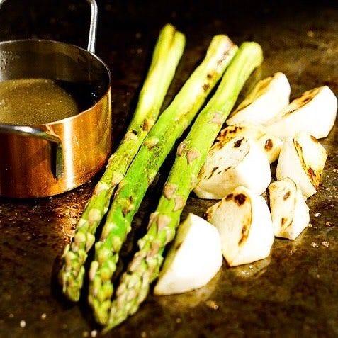 ◆お野菜の鉄板焼きもございます!