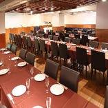 【大型個室】 多目的に使える便利な貸切パーティスペース完備