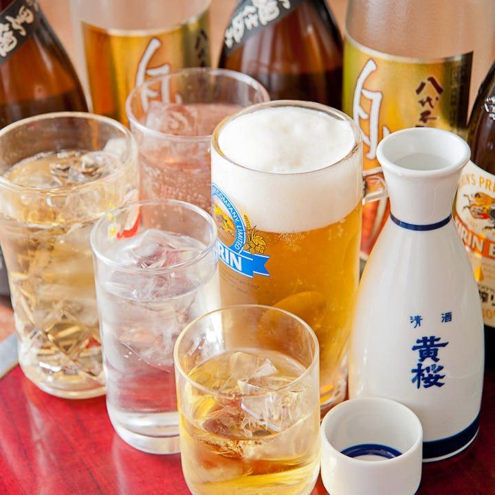 飲み放題付宴会コース3,700円~ 学生さんの宴会はもっとお得★