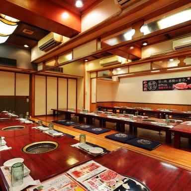 焼肉 しゃぶしゃぶ 食べ放題 はや 阿倍野アポロ店 店内の画像