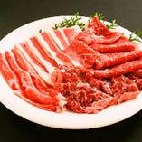 全国から厳選した上質肉を、満腹になるまで堪能してください!