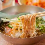 本格的な味★「韓国冷麺」※そば粉を使用