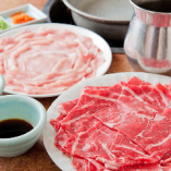 牛、豚、鶏、トッポギ、サラダ、ナムル…等々、充実のメニューで、最後まで飽きさせません!