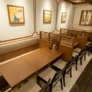 銀座ライオン 京都アバンティ店 店内の画像
