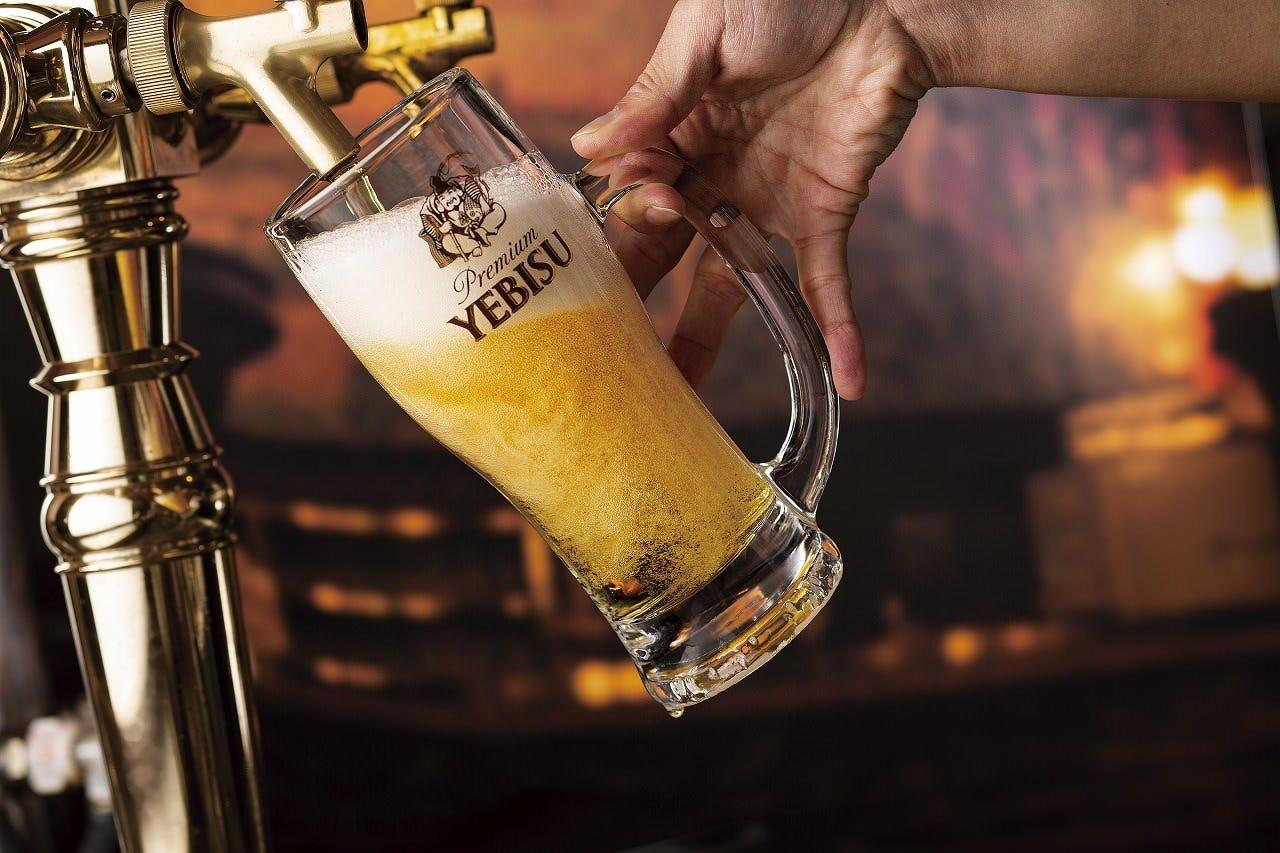 120年以上の伝統。自慢の生ビール