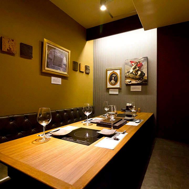 大切なゲストをもてなす接待・会食は上品な個室で
