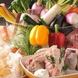 食材は旬・産地・鮮度・健全さに徹底して拘っております