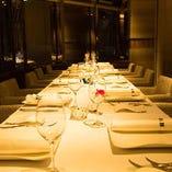 接待や会食にご利用ください。4~16名様まで対応。ご予約時に