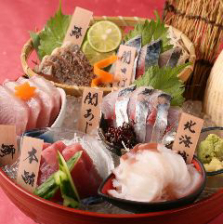 目利きの鮮魚を堪能!