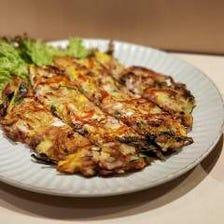 【一番人気】海鮮チヂミ(小)