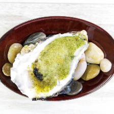 香草ガーリックバターの焼き牡蠣