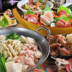 海鮮と産地鶏の炭火焼き うお鶏 清水駅店 コースの画像