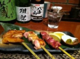 ☆看板メニュー☆ 比内地鶏おまかせ串焼き盛合せ