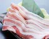 脂身こそ美味しいあぐー豚 とってもヘルシーなお肉です