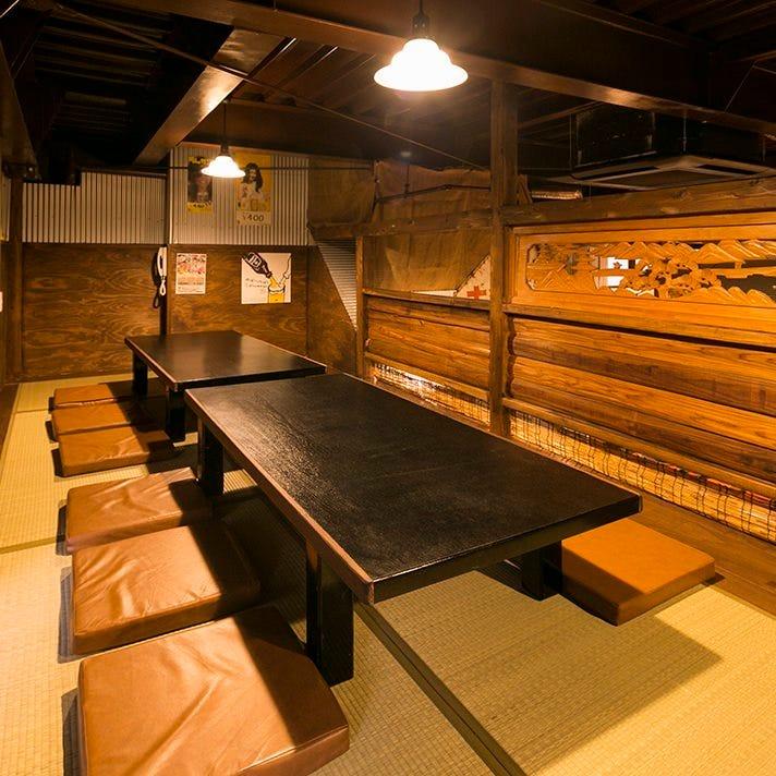 人気の中2階ロフト席は 座敷席で個室感覚で利用可能です!