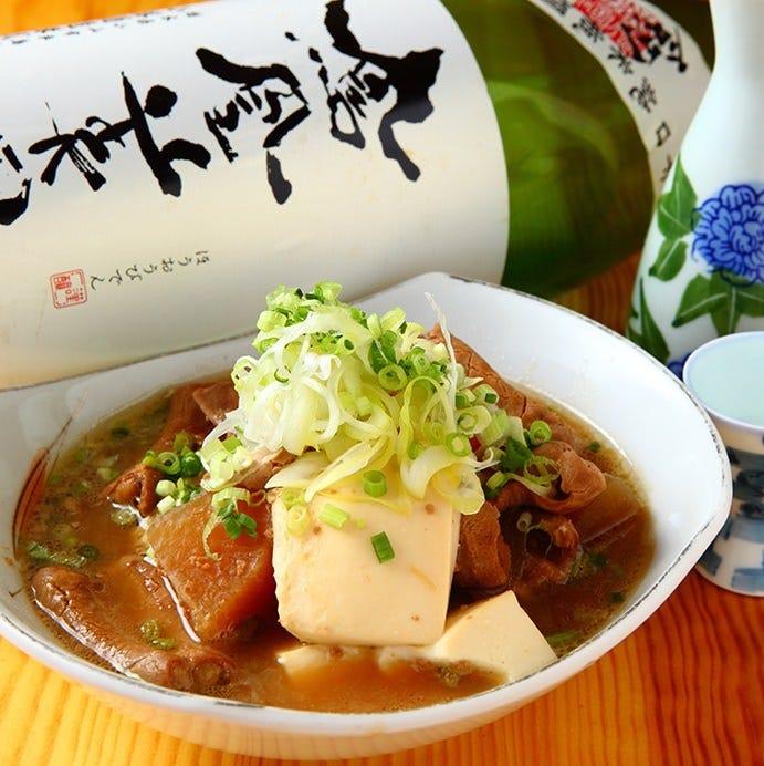 串之家で定番の人気メニュー じっくり煮込んだ名物もつ煮込み