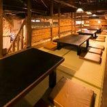 中2階ロフト席は座敷席で個室感覚で利用できます♪