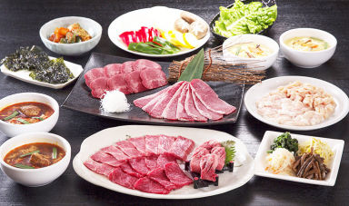 川崎名物 炭火焼肉 食道園  コースの画像
