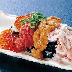 豪快!漁師ののっけ寿司