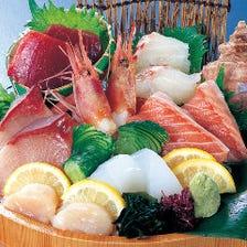 鮮度抜群旬な鮮魚!刺身・寿司極厚!