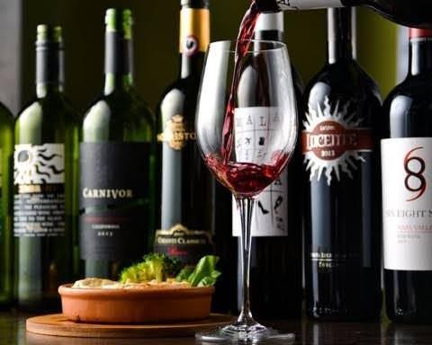 種類豊富なワイン!