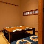 掘りごたつ個室(6名様×2室)