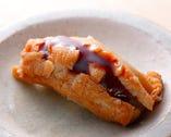 「穴子」は身が崩れるギリギリまで炊き、とろとろの食感に