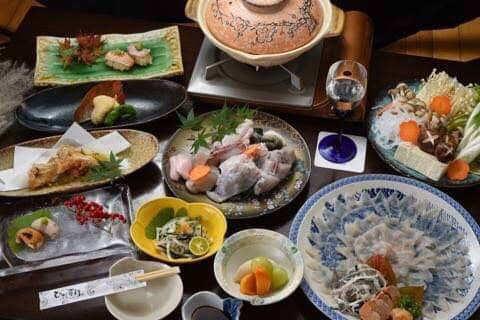 ふぐコース6,000円(税込)※お料理のみ