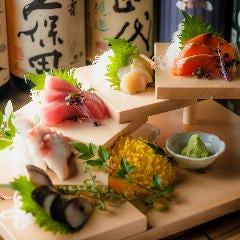 特選鮮魚のお刺身盛り合わせ