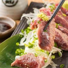 まぐろホホ肉のレアステーキ