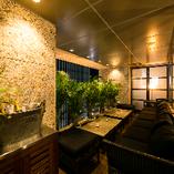 大人気の「テラス個室」で夜景を眺めながら各種ご宴会をお楽しみください♪