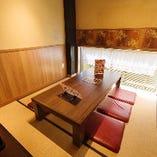 座敷席個室(4~6名様)