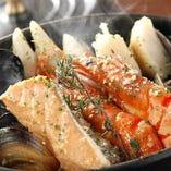 たっぷり魚介のアーリオオーリオ