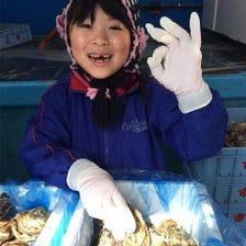 国産生牡蠣&北海道直送の鮮魚