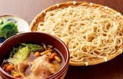 豚と冬野菜のとろみつけ汁蕎麦
