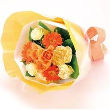 宴会コースご予約で花束プレゼント♪