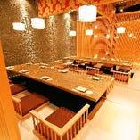 新宿での女子会・宴会・合コンに◎全席個室を完備しております