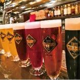人気のビール多数ご用意