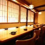 高崎駅から徒歩2分の好立地にありながら様々な個室を用意
