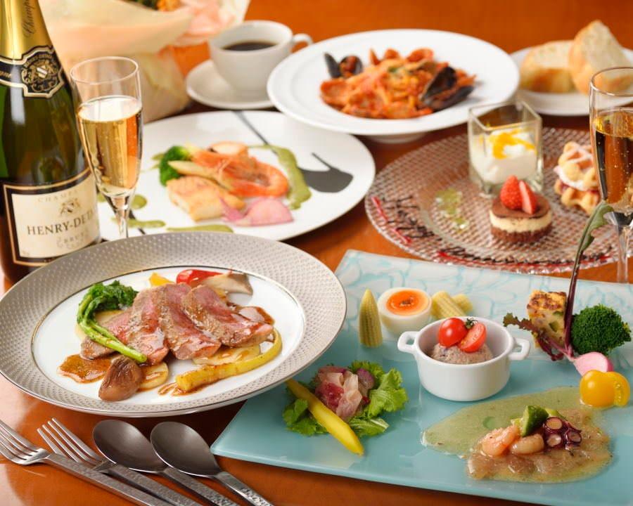 【ランチコース】メインは魚&肉で贅沢に♪ 2,500円