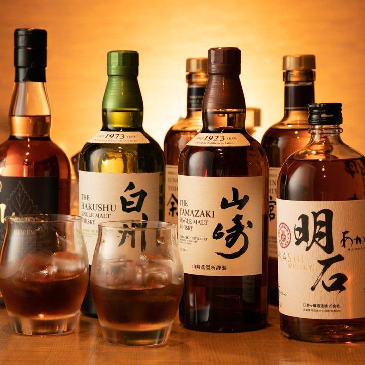 食中酒として追求した国産ウイスキー
