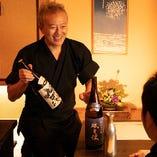 日本酒のことなら、ぜひ店主までお気軽にお尋ねください!