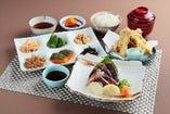 高知県産 鰹の藁焼き定食