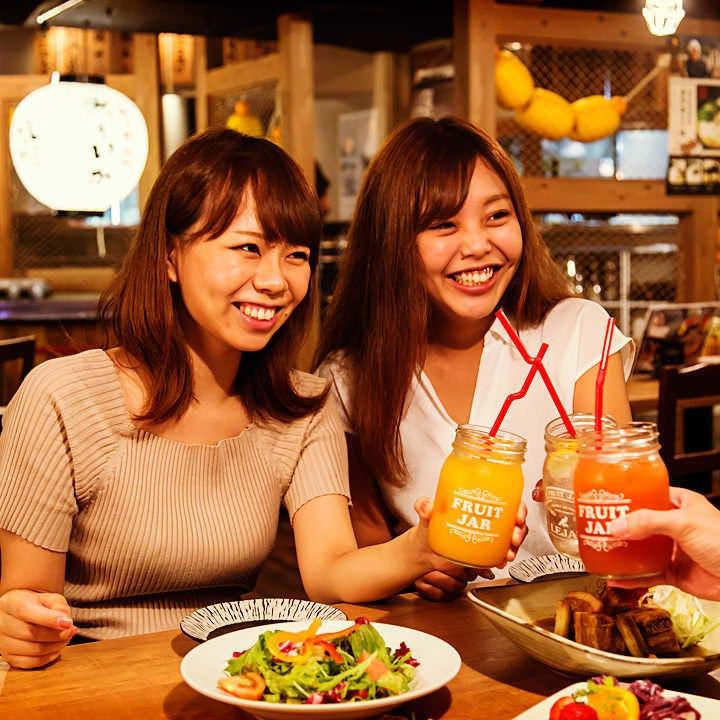 コース2,500円~!破格で楽しむ九州料理と122種の飲み放題★