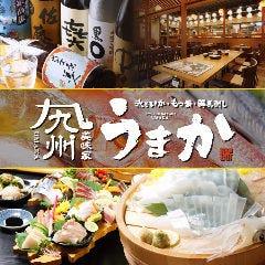 個室 泳ぎイカ 九州うまか 新大阪店