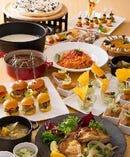 ビュッフェには、彩り鮮やかな料理が並びます!