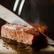 巴里夕顔のメイン食材「長萩和牛」