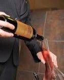 お料理と好みに合わせて ソムリエがワインお選びいたいます