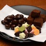 チョコレート盛り合わせ
