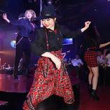 【高いダンススキル】 毎日のレッスンで磨いたダンスは必見!